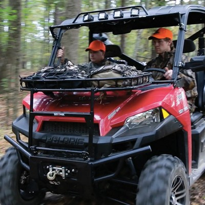 Hood Rack for Polaris Rangers with Pro Fit Roll Bar