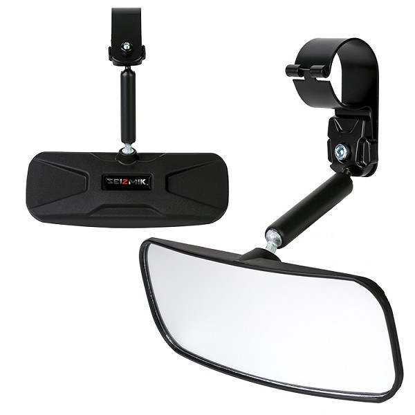 "Wide Angle Rear View Mirror for 1.75"" Roll Bars"