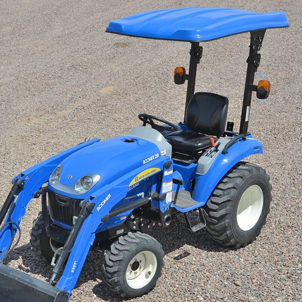 "KIT: 45"" X 58"" CANOPY KIT FOR NEW HOLLAND TRACTORS (BLUE)"